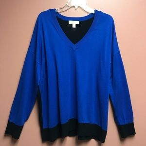 Michael Kors Color-block Soft Sweater